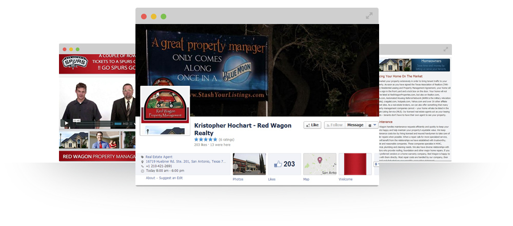 Social Media Marketing - Red Wagon Realty