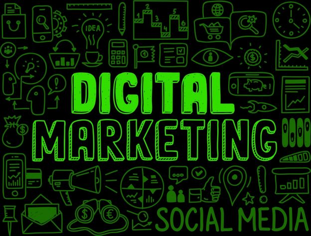 digital marketing jargon image - green