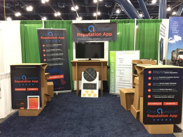 texas restaurant association booth one question reputation app oqra